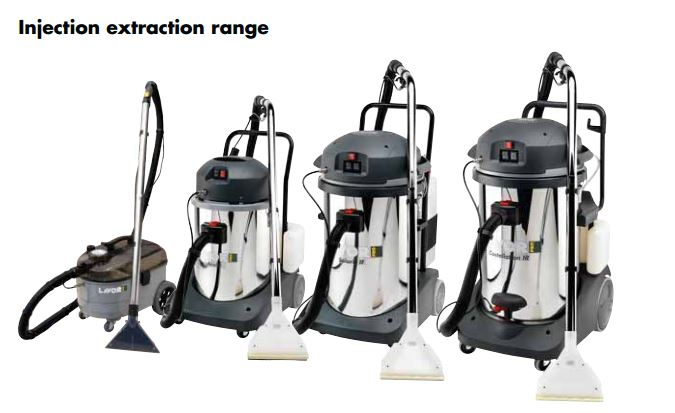 INJECTION EXTRACTION CLEANERS