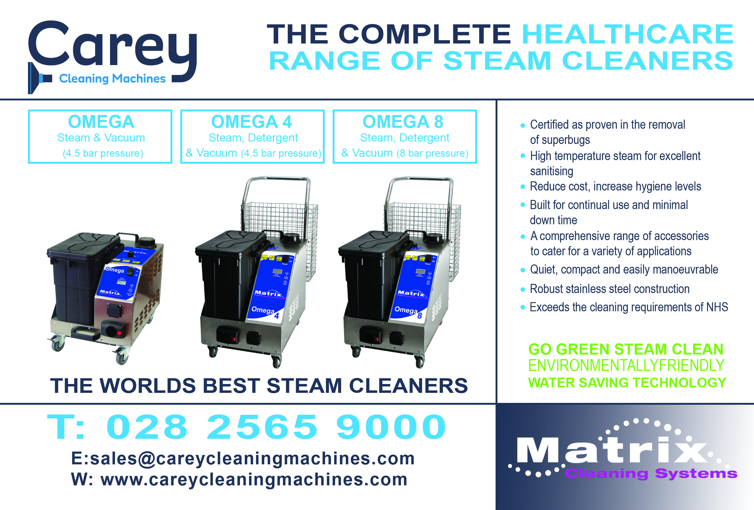 Solve Your Problems Let Off Some Steam Carey Cleaning